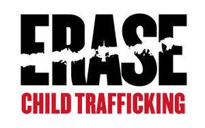 logo for ERASE Child Trafficking